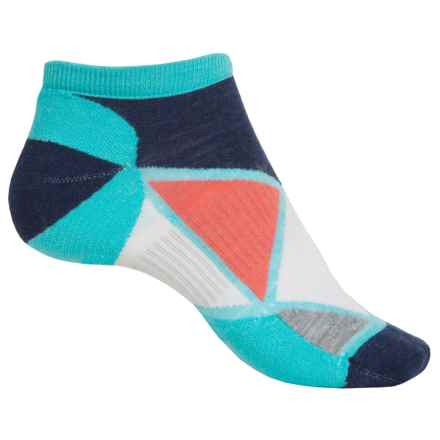 SmartWool Diamond Point Micro Socks - Merino Wool, Below the Ankle (For Women) in Light Capri - 2nds