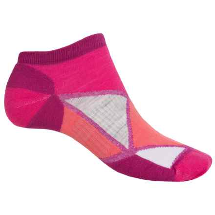 SmartWool Diamond Point Socks - Merino Wool, Below the Ankle (For Women) in Berry - Closeouts
