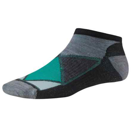 SmartWool Diamond Point Socks - Merino Wool, Below the Ankle (For Women) in Black - Closeouts