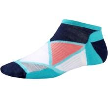 SmartWool Diamond Point Socks - Merino Wool, Below the Ankle (For Women) in Light Capri - Closeouts