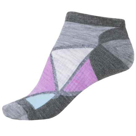 SmartWool Diamond Point Socks - Merino Wool, Below the Ankle (For Women) in Medium Gray - Closeouts