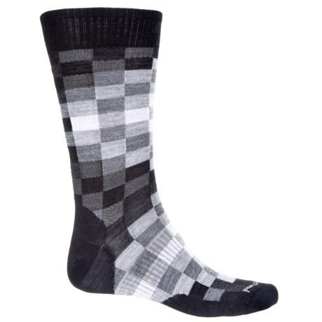 SmartWool Digi Socks - Merino Wool, Crew (For Men) in Black