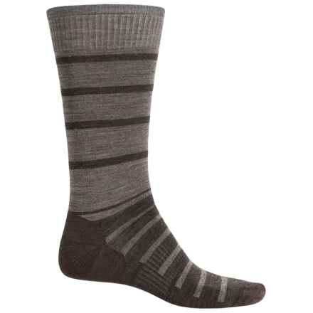 SmartWool Divided Duo Socks - Merino Wool, Crew (For Men) in Chestnut - Closeouts