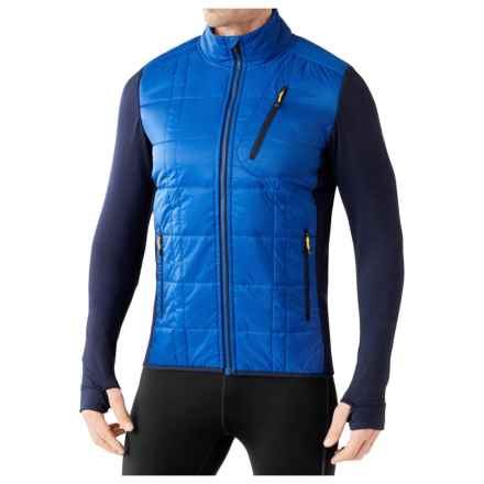 SmartWool Double Corbet 120 Jacket - Merino Wool, Insulated (For Men) in Bright Blue - Closeouts