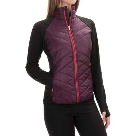 SmartWool Double Corbet 120 Jacket - Merino Wool, Insulated (For Women) in Aubergine - Closeouts
