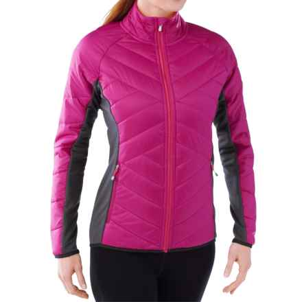 SmartWool Double Corbet 120 Jacket - Merino Wool, Insulated (For Women) in Berry - Closeouts