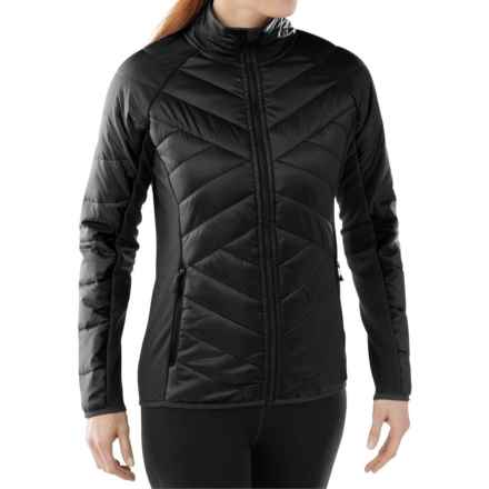 SmartWool Double Corbet 120 Jacket - Merino Wool, Insulated (For Women) in Black - Closeouts