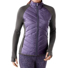 SmartWool Double Corbet 120 Jacket - Merino Wool, Insulated (For Women) in Desert Purple - Closeouts