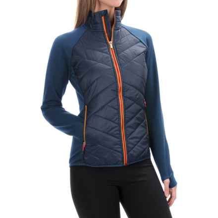 SmartWool Double Corbet 120 Jacket - Merino Wool, Insulated (For Women) in Indigo - Closeouts