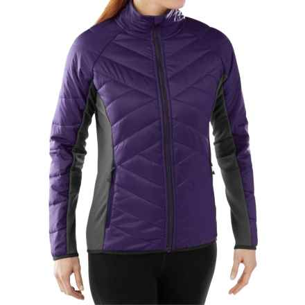 SmartWool Double Corbet 120 Jacket - Merino Wool, Insulated (For Women) in Mountain Purple - Closeouts