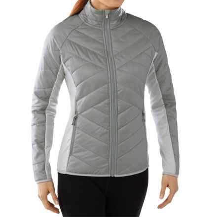 SmartWool Double Corbet 120 Jacket - Merino Wool, Insulated (For Women) in Silver - Closeouts