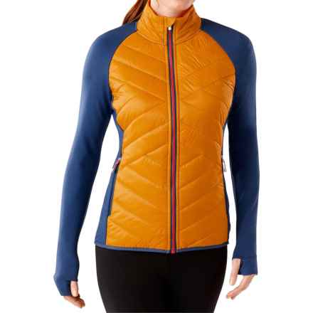 SmartWool Double Corbet 120 Jacket - Merino Wool, Insulated (For Women) in Sunglow - Closeouts