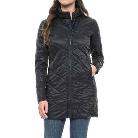 SmartWool Double Corbet 120 Parka - Insulated, Merino Wool (For Women) in Black - Closeouts