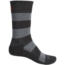 SmartWool Double Insignia Socks - Merino Wool (For Men) in Black - 2nds
