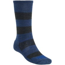 SmartWool Double Insignia Socks - Merino Wool (For Men) in Cadet Blue Heather - 2nds