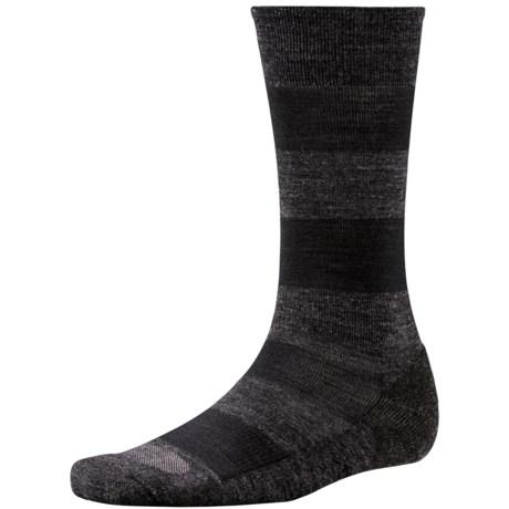 SmartWool Double Insignia Socks - Merino Wool (For Men) in Charcoal Heather