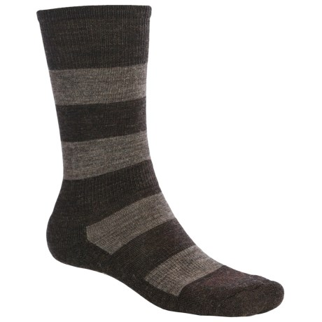 SmartWool Double Insignia Socks - Merino Wool (For Men) in Black