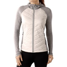 SmartWool Double Propulsion 60 Hoodie - Full Zip (For Women) in Natural - Closeouts
