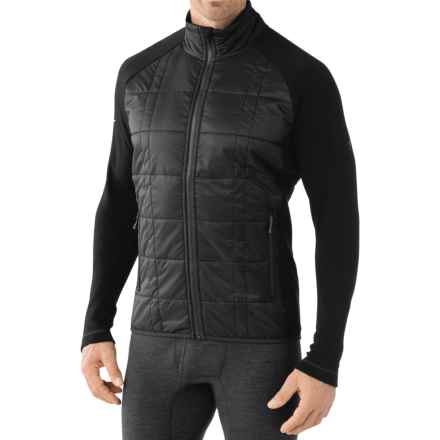 SmartWool Double Propulsion 60 Jacket - Merino Wool (For Men) in Black - Closeouts
