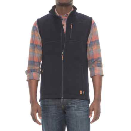 SmartWool Echo Lake Vest (For Men) in Deep Navy Heather - Closeouts
