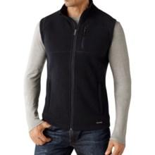 SmartWool Echo Lake Vest - Merino Wool-Fleece (For Men) in Deep Navy Heather - Closeouts