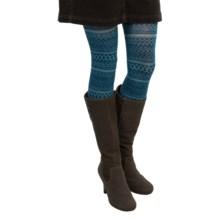 SmartWool Estonia Tights II - Merino Wool (For Women) in Deep Sea Heather - 2nds