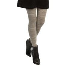 SmartWool Estonia Tights II - Merino Wool (For Women) in Oatmeal Heather - 2nds