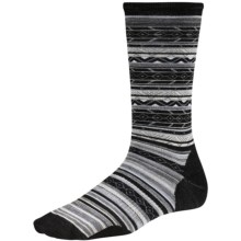 SmartWool Ethno Graphic Socks - Merino Wool, Crew (For Women) in Black - Closeouts