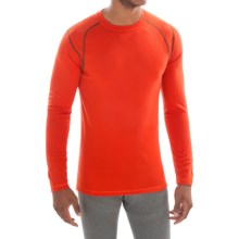 SmartWool Field Edition NTS Mid 250 Base Layer Top - Merino Wool, Crew Neck, Long Sleeve (For Men) in Bright Orange - Closeouts