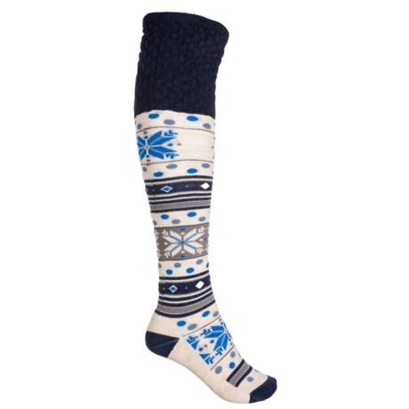 eace62dd6d5 SmartWool Fiesta Flurry Knee-High Socks - Merino Wool