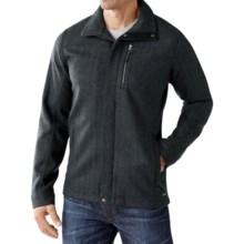SmartWool Finch Lake Wool Coat - Merino Wool (For Men) in Charcoal - Closeouts
