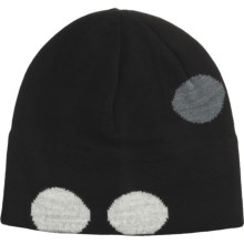 SmartWool Flecker Beanie Hat - Merino Wool (For Men and Women) in Black - Closeouts