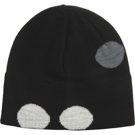 SmartWool Flecker Beanie Hat - Merino Wool (For Men and Women) in Black