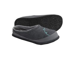 SmartWool Fritter Free Heel Slippers - Merino Wool (For Women) in Medium Grey Heather - Closeouts