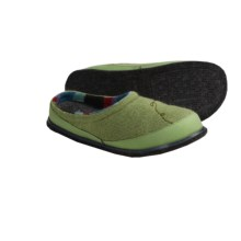 SmartWool Fritter Free Heel Slippers - Merino Wool (For Women) in Wasabi Heather - Closeouts