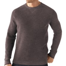 SmartWool Granite Creek Sweater - Merino Wool (For Men) in Taupe Heather - Closeouts