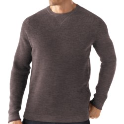 SmartWool Granite Creek Sweater - Merino Wool (For Men) in Taupe Heather