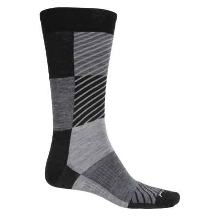 SmartWool Gunnar Socks - Merino Wool, Crew (Men) in Black - Closeouts