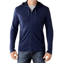 SmartWool Hanging Lake Hoodie - Merino Wool, Full Zip (For Men) in Ink - Closeouts