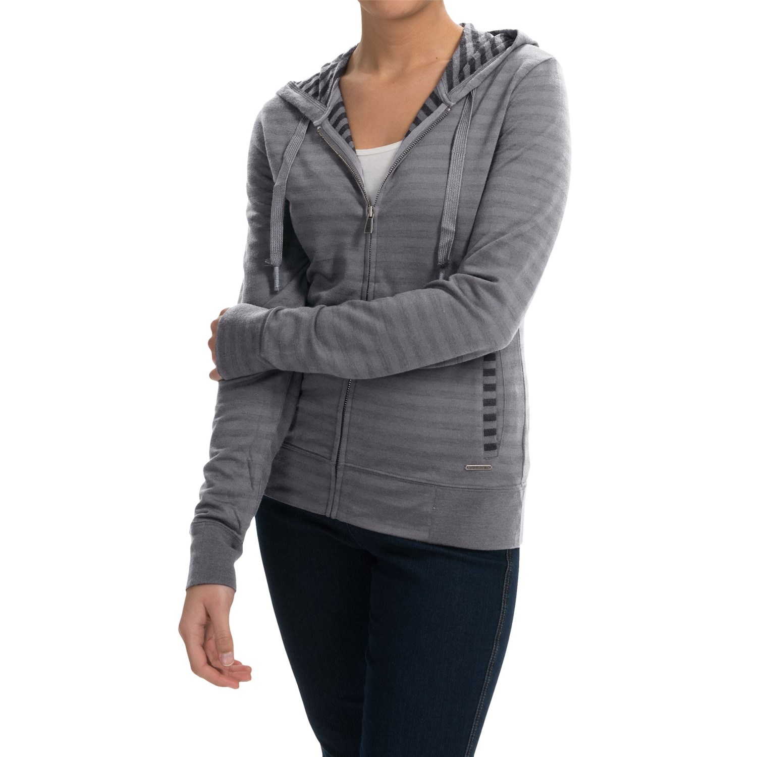 Merino wool hoodie australia gray cardigan sweater for Merino wool shirt womens