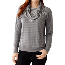 SmartWool Hanging Lake Shirt - Merino Wool, Long Sleeve (For Women) in Light Gray - Closeouts