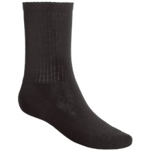SmartWool Heathered Rib Merino Wool Socks (For Men and Women) in Black Heather - Closeouts