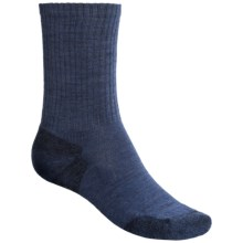 SmartWool Heathered Rib Merino Wool Socks (For Men and Women) in Cadet Heather - Closeouts