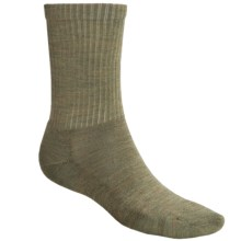 SmartWool Heathered Rib Merino Wool Socks (For Men and Women) in Chino Heather - Closeouts