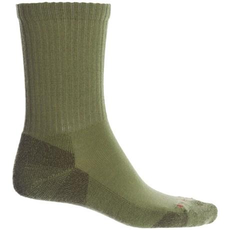 SmartWool Heathered Rib Socks - Merino Wool, Crew (For Men) in Loden