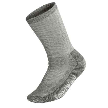 SmartWool Heavy Cushion Trekking Socks - Merino Wool (For Men and Women) in Grey - 2nds
