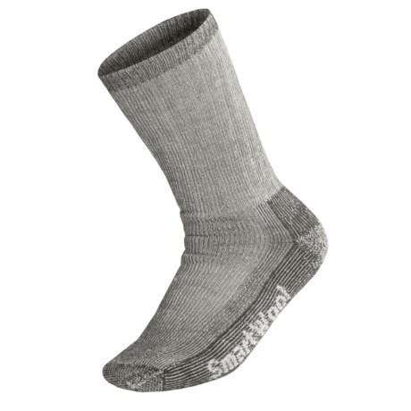 SmartWool Heavy Cushion Trekking Socks - Merino Wool (For Men and Women) in Grey