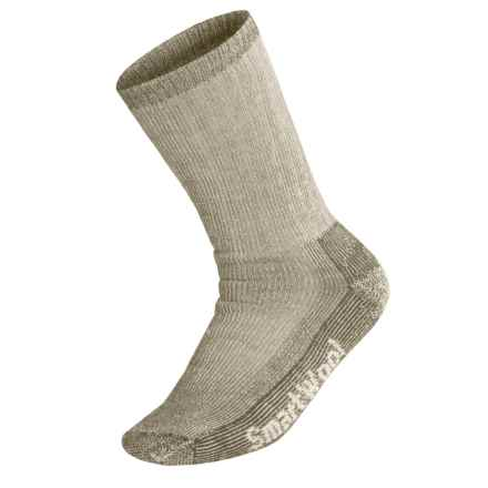 SmartWool Heavy Cushion Trekking Socks - Merino Wool (For Men and Women) in Taupe - 2nds