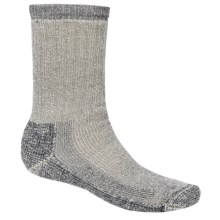 SmartWool Heavy Hike Socks - Crew (For Men and Women) in Charcoal - Closeouts