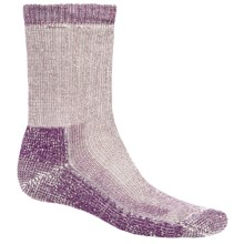 SmartWool Heavy Hike Socks - Crew (For Men and Women) in Deep Purple - Closeouts